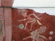 """Este fresco esta en el Palacio de Tepantintla,le llaman el Tlalocan,se interpreta como que a ese lugar iban los que morian ahogados o con alguna enfermedad """"acuosa"""" como la hidropesia,aunque algunos arqueologos discrepan con este concepto."""
