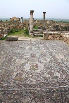 Ruines romaines en Algérie