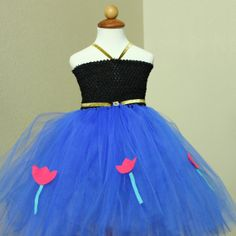 Princess Anna Costume inspired by Frozen $55.00 Blooms And Bugs via etsy