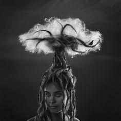 Fine Art by KRISTINA VARAKSINA, via Behance