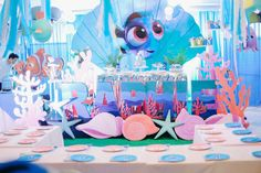 Finding Dory Under the Sea Birthday Party on Kara's Party Ideas | KarasPartyIdeas.com (5)