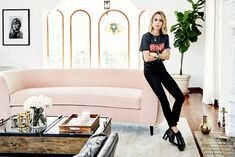 Anine Bing's Décor Style Is Quintessential L.A. Cool Girl—Get the Look via @MyDomaineAU