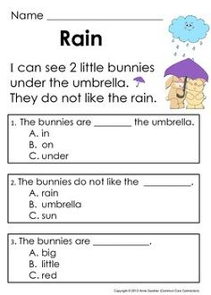 Easter Reading Passages & Addition Word Problems