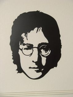 Beatles Plasma Cut 16 Gauge Metal Wall Art Featuring John Lennon…