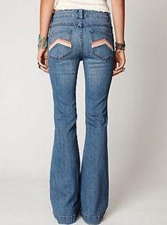 Free People La Disco Flare Jeans