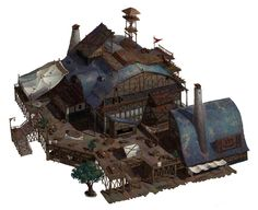 ArtStation - medieval house, 해준 조