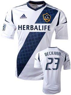 LA Galaxy 2012 New Official Home Replica Jersey - Beckham - football futebol soccer calcio Los Angeles USA EUA shirt uniform uniforme camisa