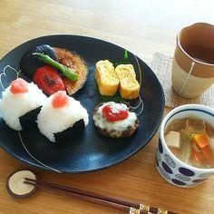 和食 ワンプレート Food Design, Food Porn, Eat This, Happy Foods, Cafe Food, Food Presentation, Easy Cooking, Food Plating, Japanese Food
