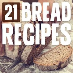 21 Bread Recipes- this is an awesome list of grain-free bread recipes! PALEO