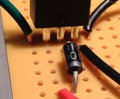 Wiring the MOSFET Transistor