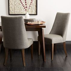 Sylvie Dining Chair -  Set of 4 for $1,196 x 2 = $2,392 (less 20% is $1,913 for 8 chairs) - Could work with both table ideas