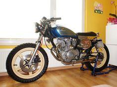 Honda cm400 cafe racer is still for sale // by 7seven customs