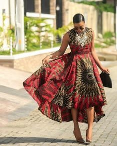 ankara mode This beautiful African print garment is suitable for different occasions. I will carefully sew it for you with high quality fabric prints and make you look as beautiful as the African Maxi Dresses, Latest African Fashion Dresses, African Dresses For Women, African Print Fashion, African Attire, African Wear, African Fashion Ankara, Black Mermaid Dress, Ankara Mode