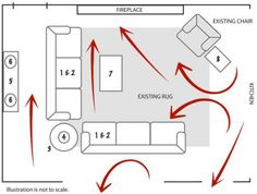 A List Of Small Medium And Large Living Room Size