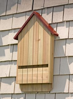 Beneficial Bat House. TO BUILD