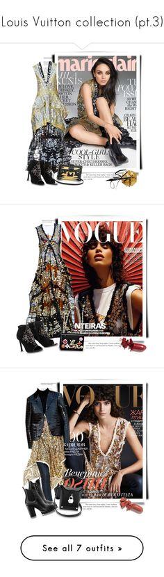 """Louis Vuitton collection (pt.3)"" by sella103 ❤ liked on Polyvore featuring Pat McGrath, milakunis, louisvuitton, marieclaire, LAQA & Co., vogue, resort2018, Louis Vuitton, jenniferaniston and Bazaar"