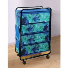 Swayam Blue Multi Purpose Storage Rack With 4 Shelves Storage Rack, Storage Organization, Purpose, Home Improvement, Shelves, Blue, Stuff To Buy, Furniture, Shelving