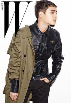 EXO D.O - W Korea Magazine July Issue '16