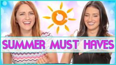 10 MUST HAVES FOR SUMMER!