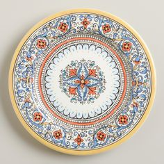 Porto Salad Plates, Set of 4 | World Market $26