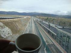 Viajar, contemplar, y disfrutar un buen café