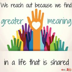 Reach Out To Others and Others Will Reach Out To You, Love Minister RuthAnn 3/8/2014 8:11am