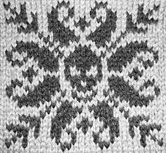 yet ANOTHER reason I need to learn how to knit! (Ravelry: Deathflake Chart pattern by Art Fiend)
