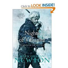 Nights of Villjamur: Legends of the Red Sun: Book One: Amazon.co.uk: Mark Charan Newton: Books