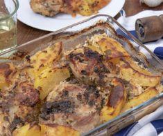 Fogas nudlival és zöldségekkel Recept képpel - Mindmegette.hu - Receptek Naan, Pork, Lunch, Recipes, Kale Stir Fry, Eat Lunch, Recipies, Ripped Recipes, Pork Chops