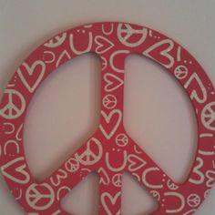 Cute sassy peace sign