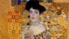 """Famous Biographies & TV Shows - Biography. www.biography.com - the painting of """"The Woman in Gold"""""""