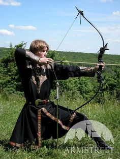 Exclusive Cotton Fantasy Brocade Tunic Elven Prince by armstreet,