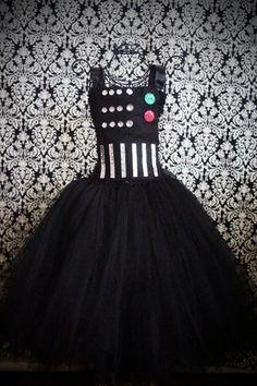 Darth Vader tutu flower girl dress?! BRILLIANT!!!
