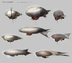 Airships and inflatable tents: Lumen, Ev Shipard on ArtStation at https://www.artstation.com/artwork/nW5yX