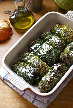 Receta de 'Rollitos de col al horno' de Pepekitchen para el blog 'A tu Gusto' de superSol. La mejor gastronomía :)