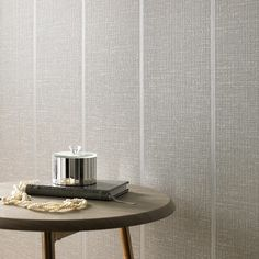 gray striped walls Prairie Gray Textured Wallpaper - Gray Stripes Wall Coverings by Graham Brown Prairie Gray Textured Wallpaper - Gray Stripes Wall Coverings by G Temporary Wallpaper Apartment, Grey Wallpaper, Grey Walls, Wallpaper Living Room, Textured Wall, Gray Striped Walls, Hallway Wallpaper, Grey Textured Wallpaper, Striped Walls