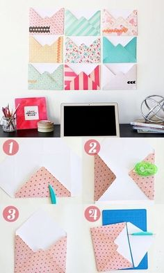 Image via We Heart It https://weheartit.com/entry/174839361 #color #craft #creative #diy #handmade #place #table