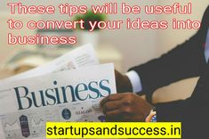 These tips will be useful to convert your ideas into business. Young entrepreneurs have many ideas and ways to work on them, but they are unable to work on them due to lack of cash or lack of investors. Young Entrepreneurs, Lds Quotes, General Conference, Business Presentation, Personal Branding, Insight, Investing, Organizations, Trials
