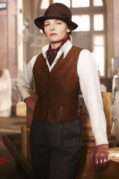 This is Dr. Mac, Phryne's friend. Miss Fisher's Murder Mysteries