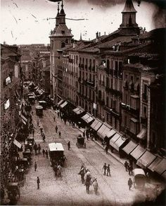 Calle Montera 1895