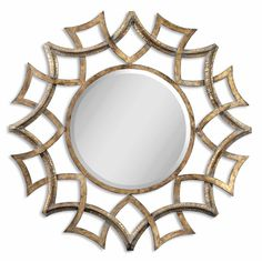 Uttermost 12730 B Grace Feyock Antiqued Gold Mirror On Sale Now. Guaranteed Low Prices. Call Today (877)-237-9098.