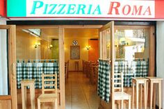 Pizzas Pizza roma Av. Larraín 6097 local 6, La Reina/ Nva. Las Condes 12253, local 85-86. Plaza interior Cantagallo.