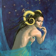 """Aries""...from ""Zodiac signs"" series"