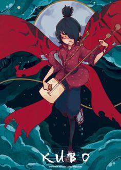 Enger Klaux KUBO!! Samurai, Laika Studios, Kubo And The Two Strings, Fanart, Illustrations, Boy Art, Coraline, Young Boys, Stop Motion