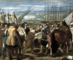 Diego Velázquez · Autoritratto in La resa di Breda · 1634-35 · Prado · Madrid