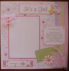 baby scrapbook ideas - Google Search