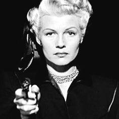 Rita Hayworth , The Lady From Shangai, 1947