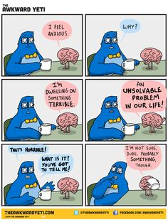 Awkward Yeti on Anxiety