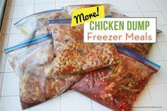 MORE Chicken Dump Freezer Meals