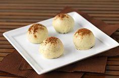 Boules aux biscuits au cappucino #recette